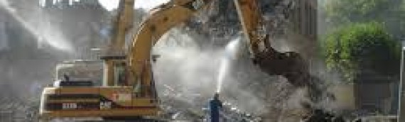 Demolition waste and concrete recycling